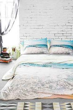 Lisa Argyropoulos for DENY Take Me There Duvet Cover - Urban Outfitters
