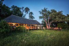 Chitabe Lediba is a environmentaly sensitve camp that fits snugly into the surrounding bush