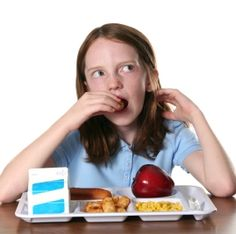 Check out the school lunch standards your kids face eating in the cafeteria.