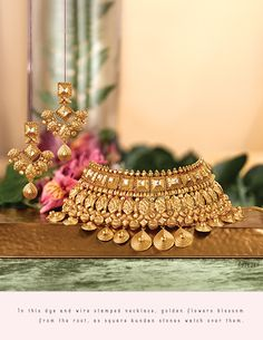 Rivaah Gold Jewellery Collection Online   Tanishq