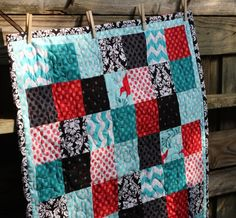 I love the simplicity of a basic block quilt. It is such a great way to showcase beautiful fabrics!  Back in 2010, I started this blo...