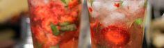 Mojito de morango | cozinha pequena