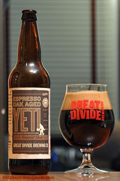 Talk about an Imperial Stout! Great Divide's Yeti is where it's at and trust me, you'll only need one to get the job done.