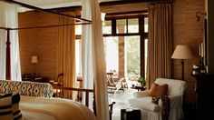Singita Sasakwa Lodge: The Serengeti in Style British Colonial Decor, Street House, Design Blog, Rustic Elegance, Interiores Design, Jet Set, Home Furnishings, Master Bedroom, Bedrooms