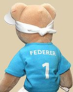 Unicef Federbear.    I may or may not have this.. ;-)