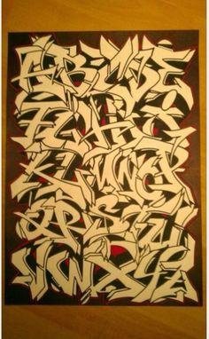 Alphabet – Graffiti – – Graffiti World Graffiti Alphabet Styles, Graffiti Lettering Alphabet, Graffiti Text, Graffiti Piece, Graffiti Writing, Graffiti Tagging, Graffiti Artwork, Street Art Graffiti, Graffiti Creator