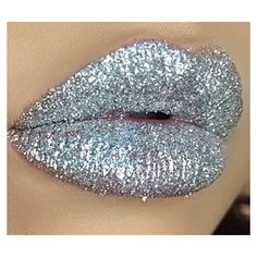 SILVER Cosmetic Glitter for Makeup, Eye Shadow, Lips, Nail Polish,... ($7.95) ❤ liked on Polyvore featuring beauty products and makeup