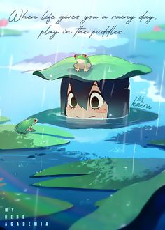 My Hero Academia Tsuyu, My Hero Academia Memes, Hero Academia Characters, My Hero Academia Manga, Anime Characters, Kirishima My Hero Academia, Manga Anime, Fanarts Anime, Anime Art