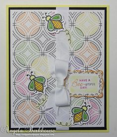 Garden Tools Clear Stamps and Quilted Circles Cling Background Stamp   JustRite Papercraft Inspiration Blog