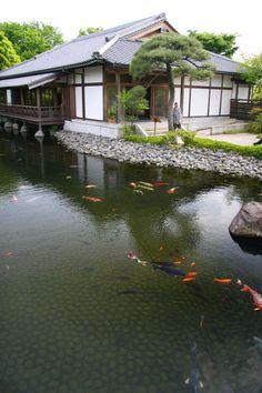 Japanese Garden at Himeji Castle (Hyogo, Japan) 姫路城