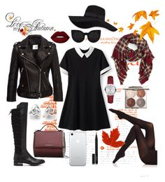 """""""28 Septembrie"""" by serban-lorena on Polyvore featuring Anine Bing, Natori, Sole Society, Givenchy, Burberry, Georgini, San Diego Hat Co., Lime Crime, Chantecaille and NARS Cosmetics"""