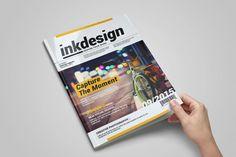 InkDesign Magazine Template