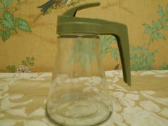 Syrup Pitcher Vintage Androck Syrup Pitcher by SETXTreasures