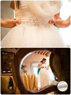 Believe it or not, this is a DIY bridal dress: the bride manufactured it all by herself! Ph Qualcosa di Blu http://www.brideinitaly.com/2013/11/qualcosadibludiydress.html #italianstyle #wedding