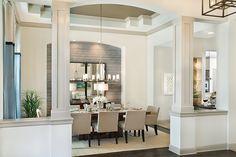 Trinity Luxury Designer Home dining room palette