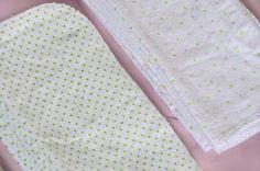 Cloth Baby Wipes Starter Kit  3 dozen Eco by AsYouStitchBaby, $26.00