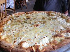 A taste of Via Napoli's Carciofi pizza at home!
