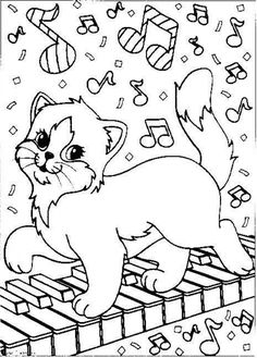 Detailed coloring pages of Lisa Frank for adults online