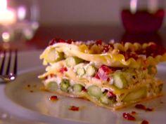 *Asparagus Lasagna/ cookingchanneltv.com