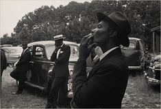 """Robert Frank, """"Funeral-St. Helena, South-Carolina"""" from an essay over at Escape into Life"""