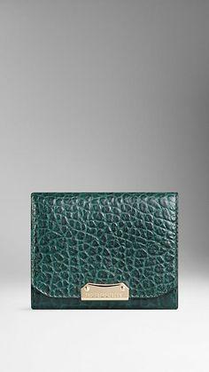 Burberry Signature Grain Leather Card Case