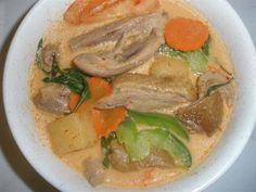 Duck Curry From Awesome Thai In Reseda Ca