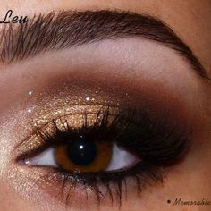 Shimmery copper for the brown-eyed