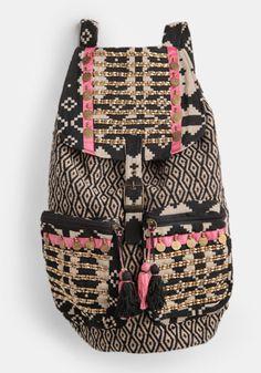 Boho Shiva Aztec Backpack