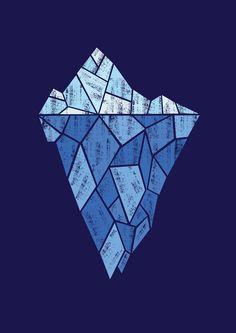 Iceberg by Kimberly Carpenter, via Behance
