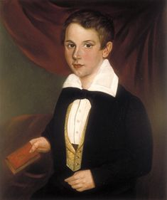 Portrait of young Andrew Jackson