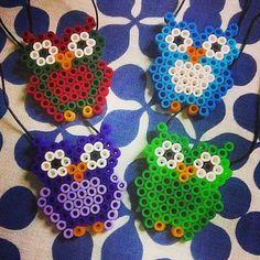 Owls hama beads by sandrameds