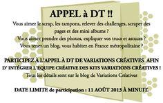 Variations Créatives ; Tampons, embellissements Scrapbooking toutes marques. (izink) sm