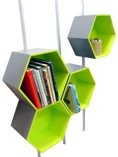 Bookshelves - cute for B's room