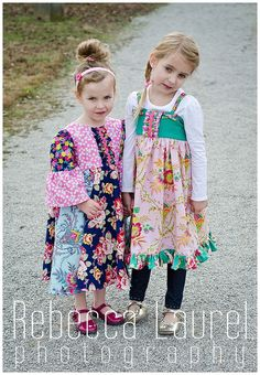 Pattern revolution - Boardwalk dress from Hailey Bugs Closet Sweet Caroline from Little Lizard King Sewing Projects, Sewing Tutorials, Sewing Ideas, Diy Clothing, Children Clothing, Little Lizard, Free Spirit Fabrics, Sweet Caroline, Lucky Girl