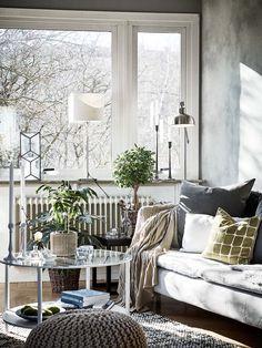 Kolme kotia - Three Homes Tyylikkäät ja tunnelmalliset kodit eivät Ruotsista hevin kesken lopu - tänään taas esittelyssä kolme sellaista ...