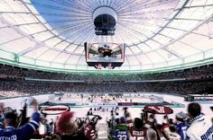 Rogers Arena. Home of the Vancouver Canucks