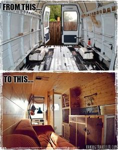 a Custom built Van Dweller home