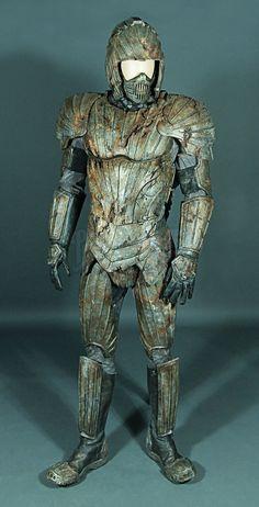 Riddick - Rule The Dark : Distressed Necromonger Costume. I love this! #Nerd #Cosplay #Riddick #Distressed