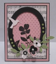 Can't Stamp the Rain: Pink and Green at Dynamic Duos! Wild Flower Meadow, Dynamic Duos, Candy Cards, Scrapbook Pages, Scrapbooking, Card Sketches, Flower Cards, Greeting Cards Handmade, Homemade Cards
