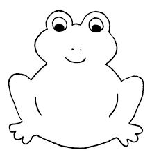 Simple frog template. Click through to the website for