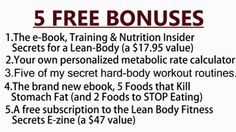 3 Offers From Mike Geary   The Honest Source on Fitness and Nutrition News