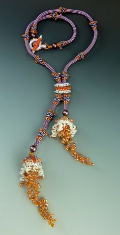 Laura McCabe's project for the 2015 Seaside Bead Retreat in Mystic, Connecticut. Visit www.beadelves.com to sign up!