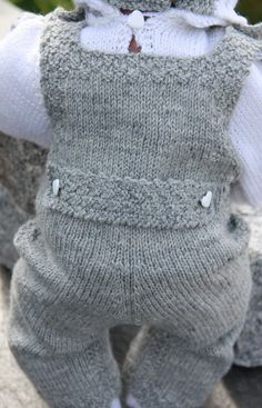 Knit doll clothes - Design 0062D LARS & LENE