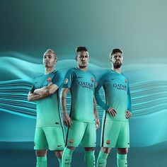 The @nikefootball Barcelona third kit. Hot or cold? . . . #footydotcom #fcfc #footy #footballboot #soccercleats #football #soccer #futbol #futbolsport #cleatstagram #totalsocceroffical #fussball #bestoffootball #rldesignz #footballboots #nike #nikefootball #nikesoccer #fcbarcelona #barca #barcelona #footballnews #footballshirts #newrelease #design #gradient