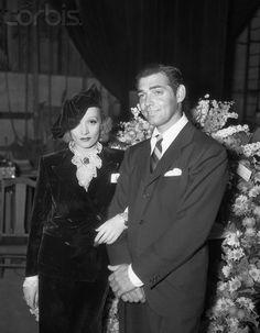 Marlene Dietrich And Clark Gable