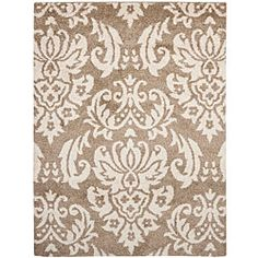 @Overstock - This power-loomed shag rug offers luxurious comfort and unique styling with a raised high-low pile. High-density polypropylene pile features a beige background with beige accents and provides one of the most plush feels available in a rug.http://www.overstock.com/Home-Garden/Ultimate-Beige-Shag-Rug-86-x-12/6318880/product.html?CID=214117 $393.99