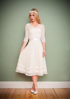 """Brautkleider - Brautkleid """"Schneeweißchen"""" - ein Designerstück von Ave-evA bei DaWanda"""