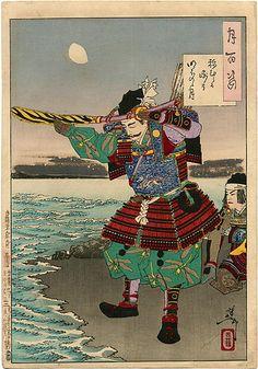 Гравюры японского художника Тсукиока Ёситоси (164 работ)