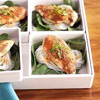 BHG's Newest Recipes:Asian Chicken Salad Recipe