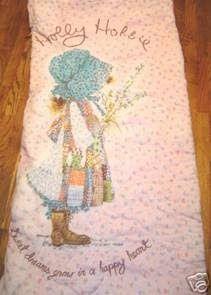 I loved my Holly Hobbie Sleeping bag
